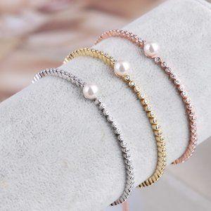 Henri Bendel Shiny Drawstring Adjustable Bracelet